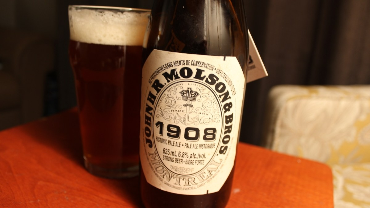 Molson's 1908 Historic Pale Ale Shows a Crafty Evolution