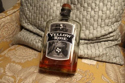 Yellow Rose Rye Texas whiskey
