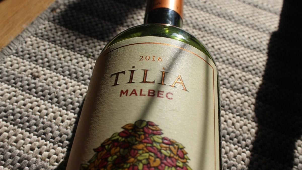 Tilia Malbec Tastes Terrific, Especially on a Tight Budget