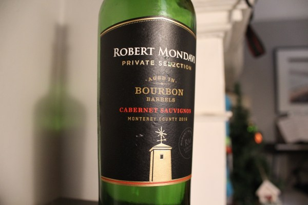 Robert Mondavi Private Selection Bourbon Barrel Cabernet Sauvignon