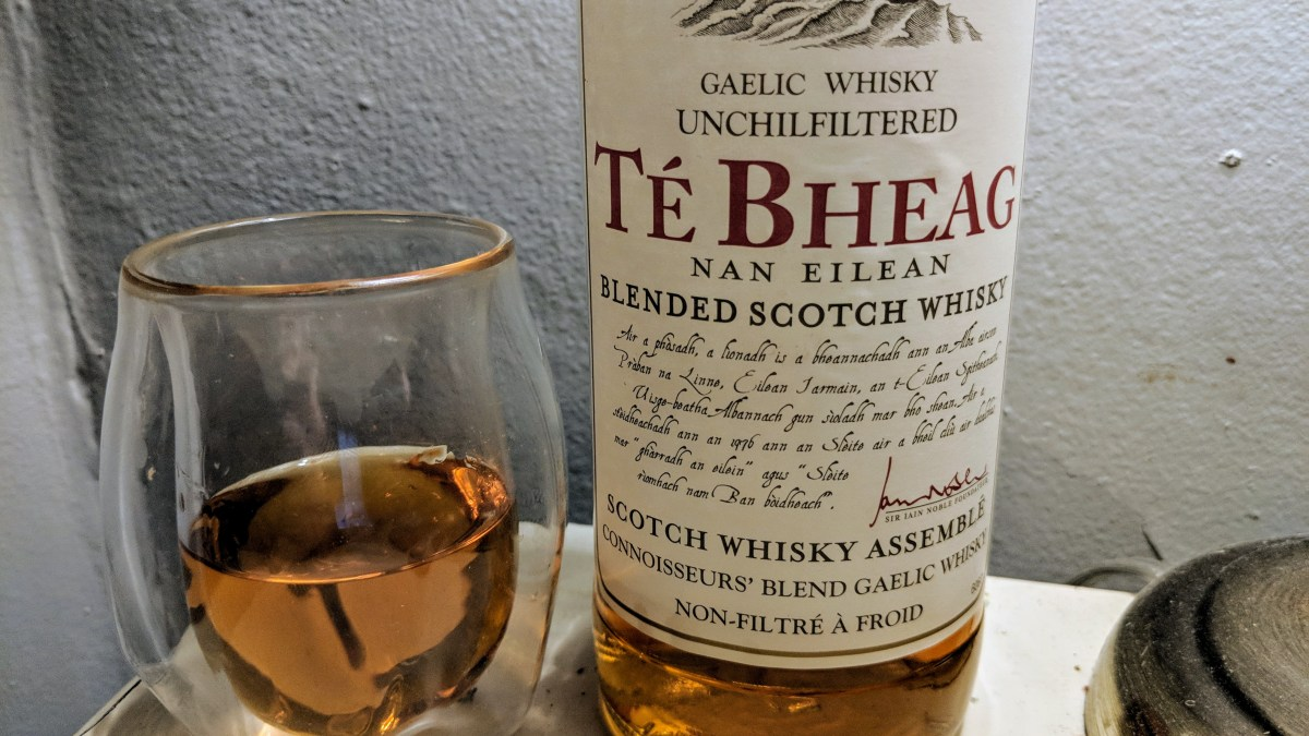 Té Bheag Scotch is Decent as a Dram, Heavenly in a Highball