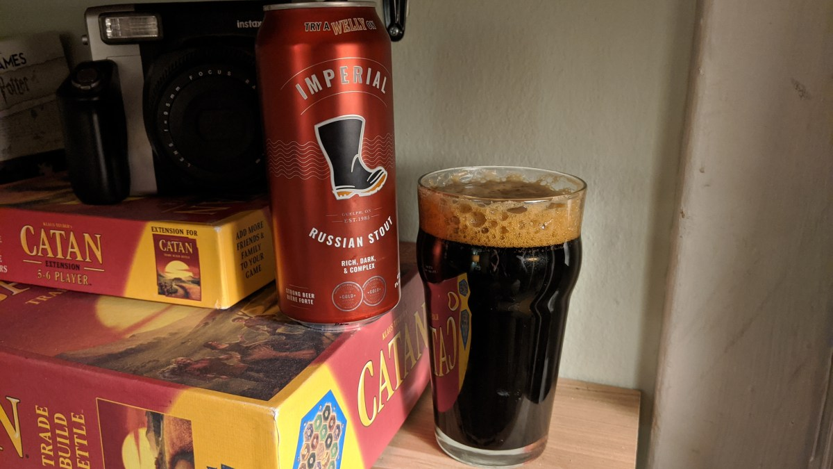 Wellington Brewery's Imperial Russian Stout is a Superb Winter Sipper