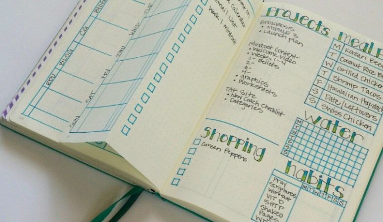 Plan with Me:  June Bullet Journal Setup