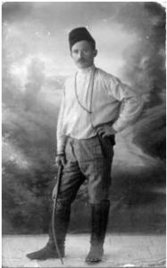 Александр Зайд в молодости