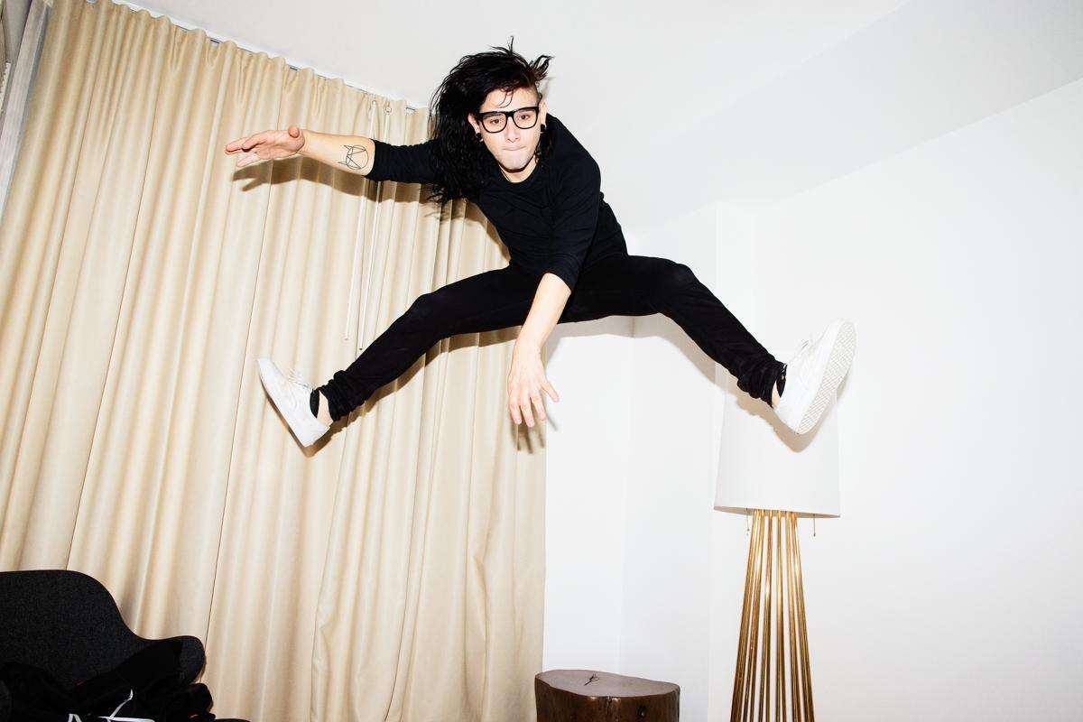 "Sonny Moore (Skrillex) returns to From First To Last on new single ""Make War"""