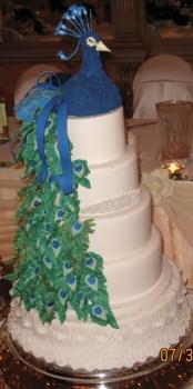 Wedding Cake - J & Y