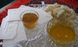 Bread-garlic, Oplatek-honey