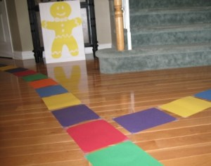 Candy Land indoor path