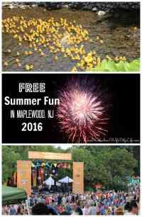 FREE Summer Fun in Maplewood, NJ 2016