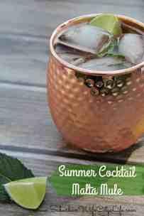Summer Cocktail: Malta Mule
