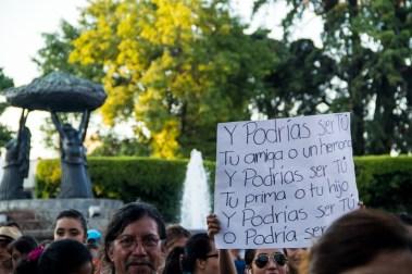 Marcha por desaparecidos de Ayotzinapa en Morelia. Por Alejandro Amado