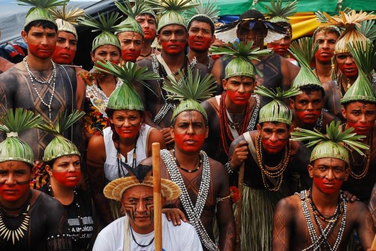 Los indígenas xucuru de estado de Pernambuco son uno de los pueblos más organizados de Brasil y sostienen que su lucha es por todos los pueblos de Brasil. Fotografía: Santiago Navarro F.