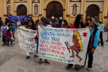¡Tierra, agua y libertad! Caravanas por la defensa de los bienes comunes