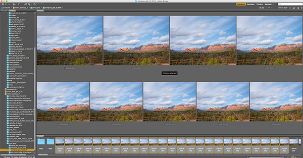 Adobe bridge screen capture