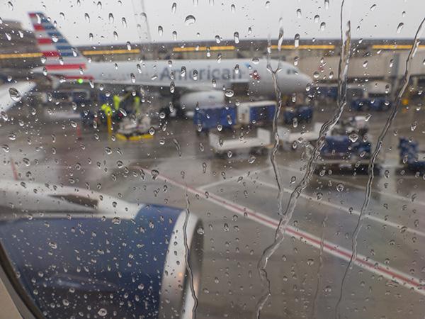 rain plane photo