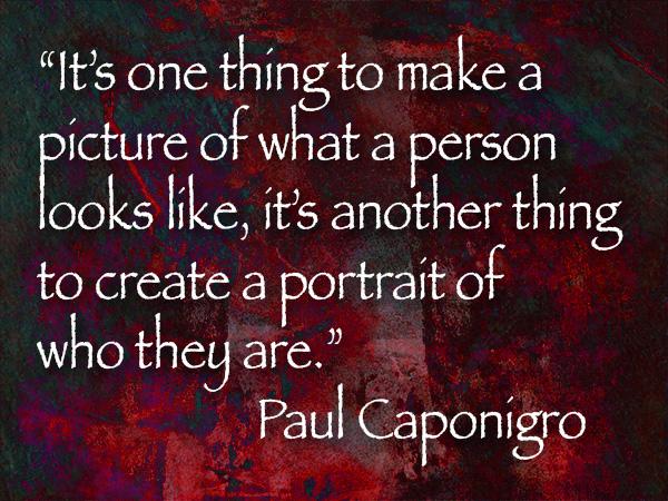 paul caponigro photography quote