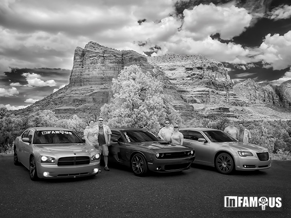 infamous car club in sedona photo