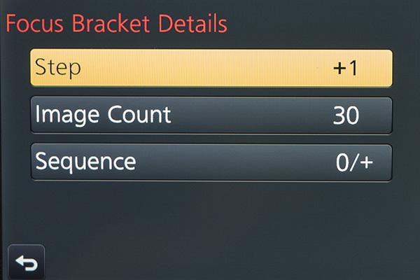 bracket setting