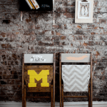 DIY // Hand-painted Chairs