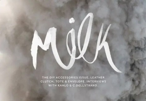 milk magazine app for DIY
