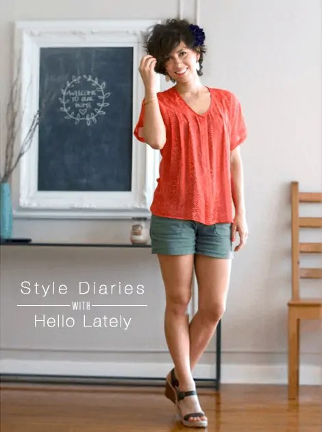 style diaries with alison of hello lately