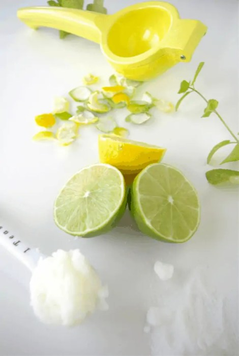 diy organic citrus scrub body