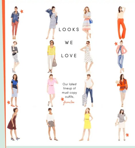 J.crew looks we love june 2012