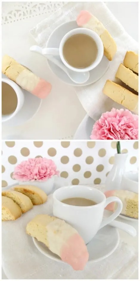 simple biscotti recipe white chocolate and pink
