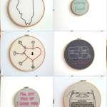 Decor // Moxiedoll Hand Embroidery