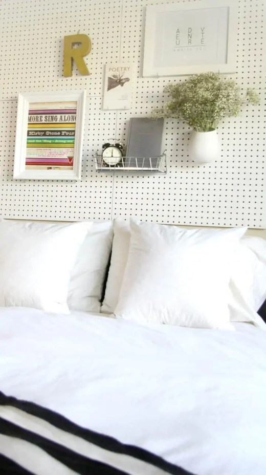 Tête de lit design, DIY tête de lit, faire sa tête de lit soi-même
