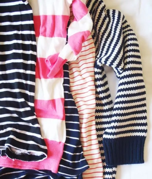 style diaries gaby of the vault files striped sweaters