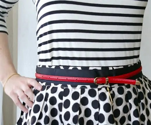 DIY charmed belt
