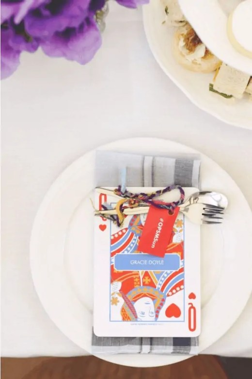 high tea meets alice in wonderland