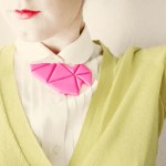 DIY // Geometric Bib Necklace