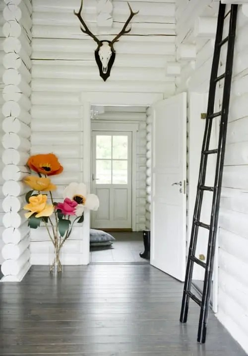 giant paper flower decor by House That Lars Built