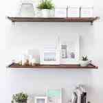 DIY Distressed Wooden Shelves