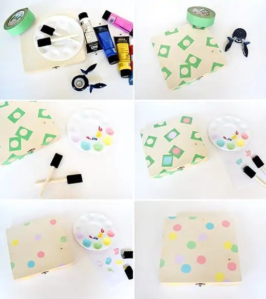 DIY Confetti Birthday Box - Sugar & Cloth - Hosting & Entertaining - DIY Gift - Houston Blogger