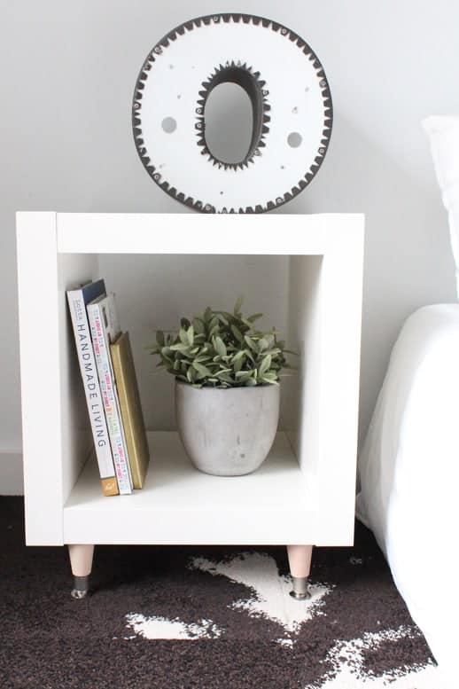 DIY Ikea Hack Sidetable To Elevate Your Living Space