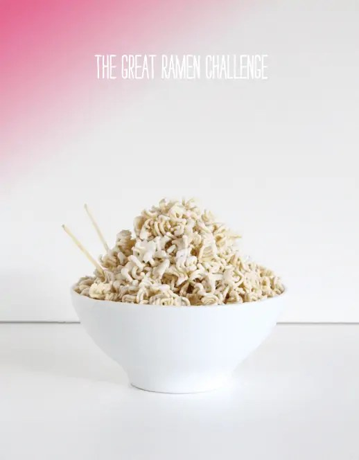 A DIY Golden Ramen Noodle Trophy - DIY - Sugar & Cloth - Houston Blogger