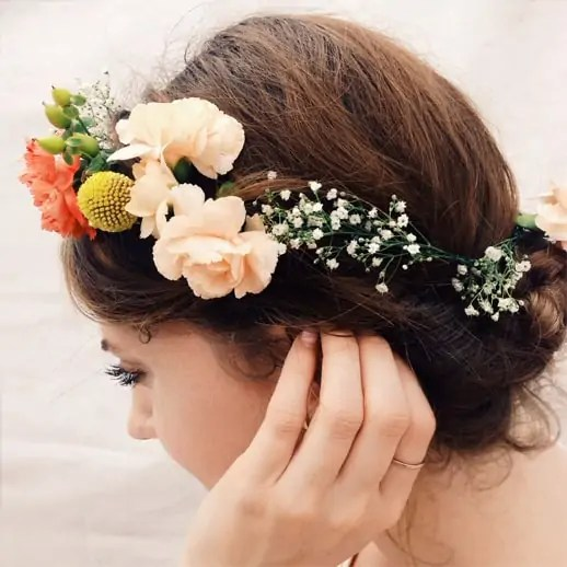DIY Floral Headpieces - Sugar & Cloth - Houston Blogger - Flowers - DIY