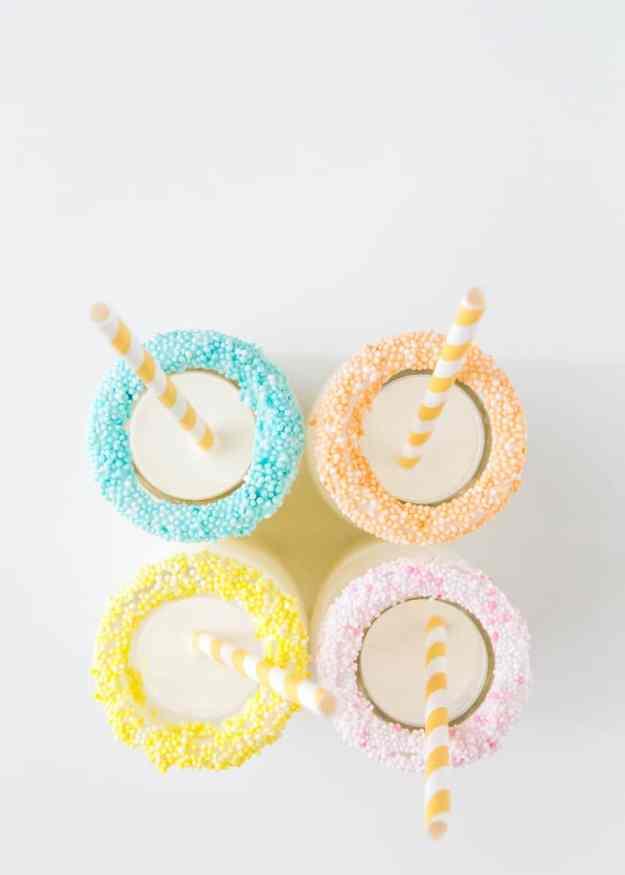 DIY speckled sprinkles   sugarandcloth.com