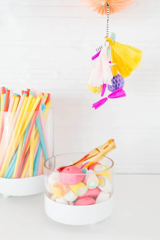 DIY // Footed candy jars