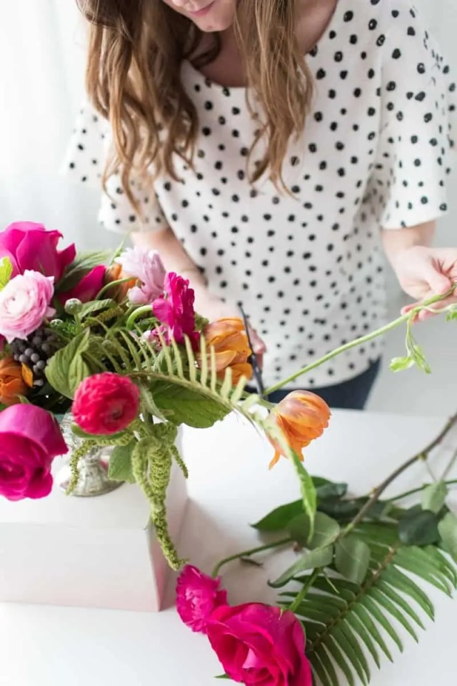 floral workshop | sugarandcloth.com