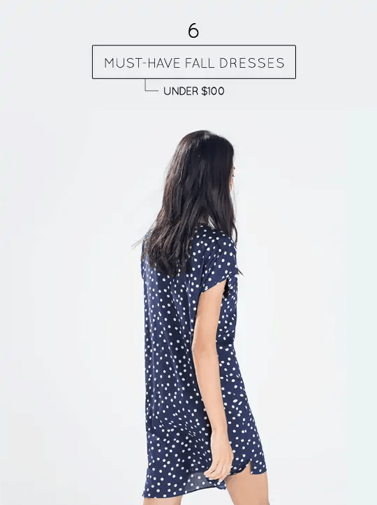 Must-have patterned fall dresses