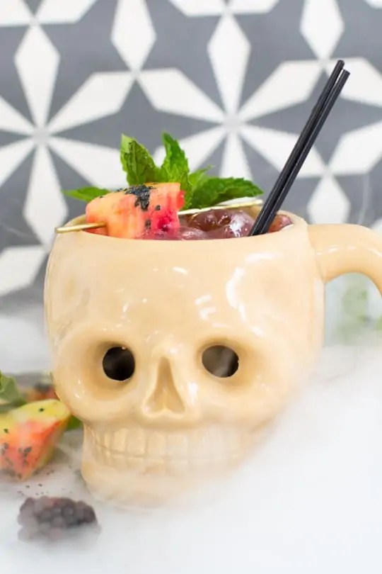 Creepy Cocktails: The Shrunken Skull - Sugar & Cloth