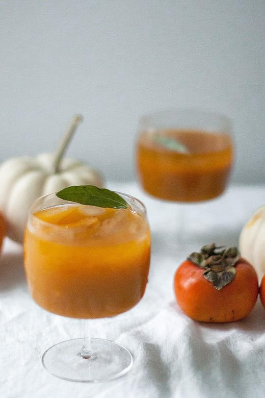 Pumpkin persimmon punch 9