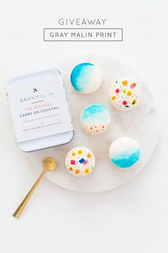 Gray Malin Giveaway and DIY Beach Macarons! - sugar and cloth