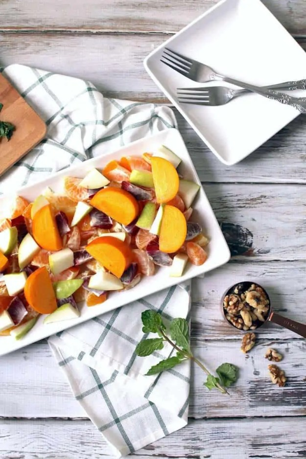 what are citrus fruits winter fruit salad