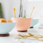 DIY Footed Serving Bowls
