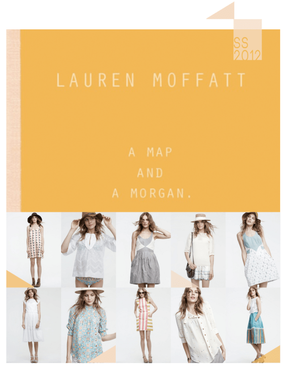 lauren moffatt spring summer 2012 lookbook